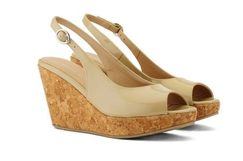 a4e86160b Ivory And Beige Vanilla Moon Women Marie Wedges, Rs 2490 /pair | ID ...