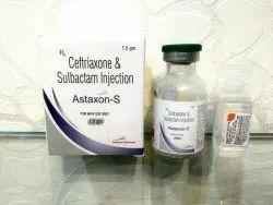 Ceftriaxone 1000 mg Sulbactum 500 mg