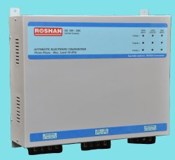 Roshan Relay Type Auto Changeover Switch, Model No.: RCT-180