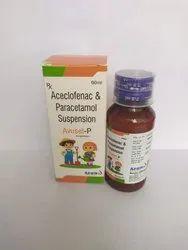 Aceclofenac & Paracetamol Syp