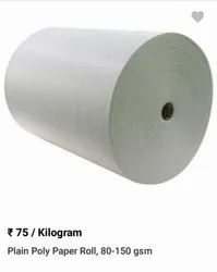 Poly coated roll