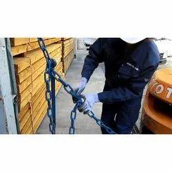 Chain Rope Cargo Lashing Work