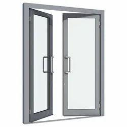 Fiberglass Aluminium Door Work