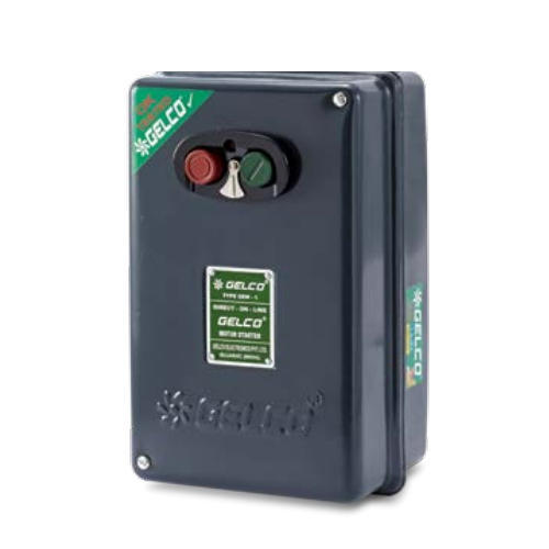 Gelco Automatic Three Phase DOL Motor Starter, Voltage: 415 V
