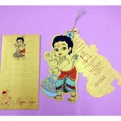 Krishna Mundan Ceremony Card