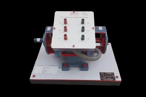 Rajat Cut Model Of Three Phase AC Motor