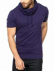 Men's Cowl Neck T Shirt, Size: XS - XL