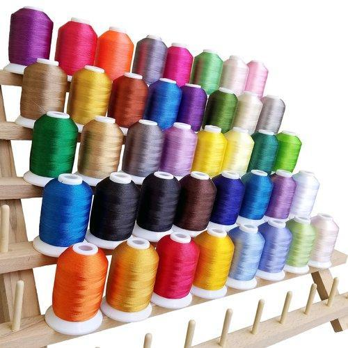 Glossy Spun Embroidery Thread at Rs 250/box | Embroidery Yarn, कढ़ाई धागे -  Lotus Thread, Ahmedabad | ID: 17511446555