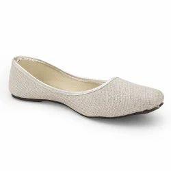 Jaipuri Silver Ballerina Sandals 310