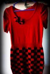 Red Woolen Kurti