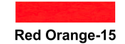 Red Orange Fluorescent Pigment Paste