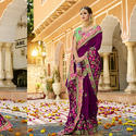 Stylish Party Wear Saree