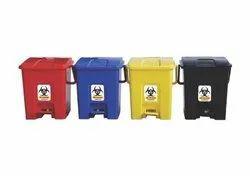 Bio Medical Waste Dustbin, Capacity: 20L