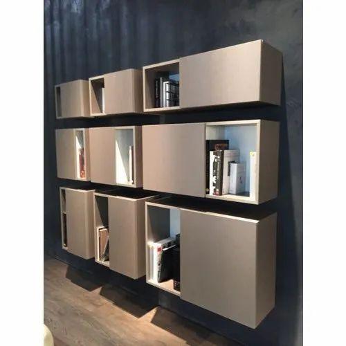 Wooden Modern Bookshelf Rs 1200 Square Feet Ramdev Enterprises