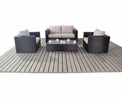 White Grey Sofa Set