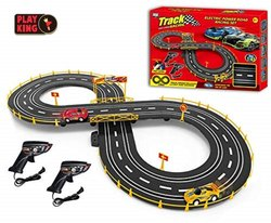 Barodian's Smart Toys Slot Car Set with Racing Assistant High Speed Track