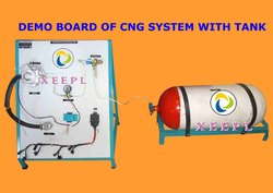 Demonstration Board of CNG System with Tank