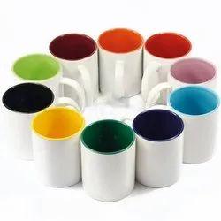 Printed Ceramic Promotional Coffee Mug, Packaging Type: Box