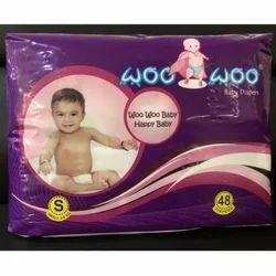 Small Woo Woo Jumbo Pack Baby Diaper