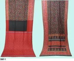 Lucky Party Wear 100% Pure Silk Woven Kani Sarees, 6.90 (WITH BLOUSE PIECE)