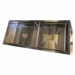 Deck Mounted SS Kitchen Sink