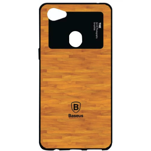 Brown Oppo F-7 Designer Mobile Back Cover