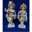 Radha Krishna Makrana Marble Statue
