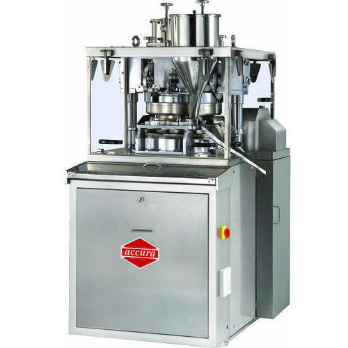 D4 Single Sided Rotary Tablet Press Square cGMP