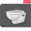 Closed Front Somany Wall Hung Wc - Mido - (without Seat Cover)