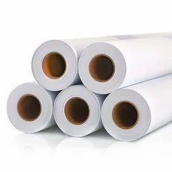 White Printing Media Vinyl Roll