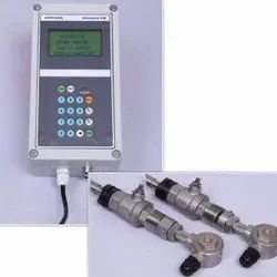 USFM600DL Fixed Type Ultrasonic Flow Meter with insertion sensor and  in Built Data Logger