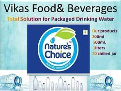 Natures Choice Packaged Drinking Water