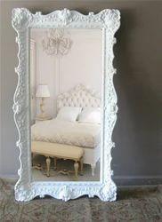 Chic Wooden Mirror