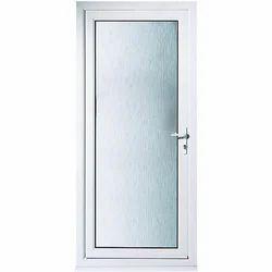 UPVC Bathroom Hinged Door