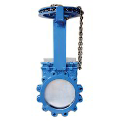 Knife Edge Gate Valve with Chain Operating