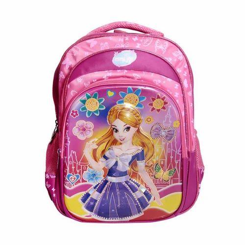 0dba5bdfc6b0 Kids Girls Printed School Bag