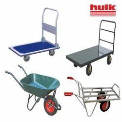 Hulk Lokpal Steel Platform Hand Trolley, For Material Handling