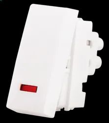 Finolex LAN Capable Plastic Modular Switches, Switch Size: 2 Module