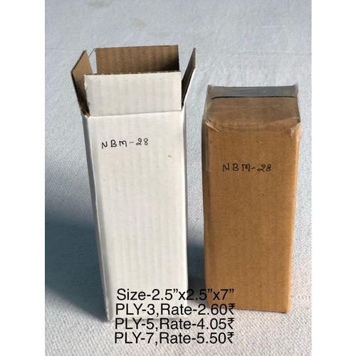 Brown Printed Corrugated Boxes, Usage: Industrial Product Packing