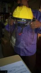 Safety Helmet With Safety Shield