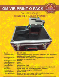 OMJET 2300 (52) HANDHELD INKJET PRINTER