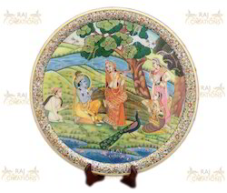 Marble Handicrafts Plate