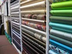 Red Satin Apparel Fabric, 50-100