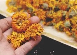 Yellowish Orange Calendula Officinalis Pot Marigold, Pack Size: 1 Kg