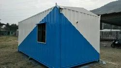 Rectangular Shape Portable Cabin