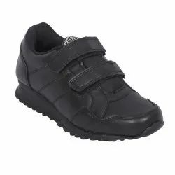 Black Topper(W) School Shoes