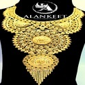 Designer Gold Plated Necklace Jewellery Bijoux