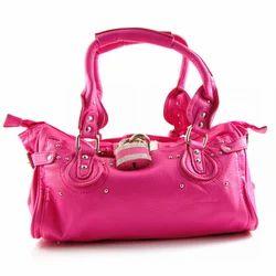 Plain And Pink Handbag