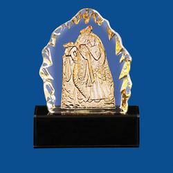Crystal Radha Krishna Statues