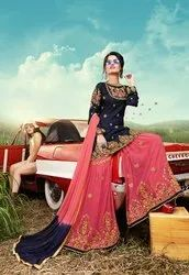 Pr Fashion Launched Lovely Heavy Designer Sharara Suit